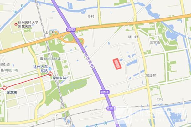 2019-120号凤凰山集聚区1号地块 区位图