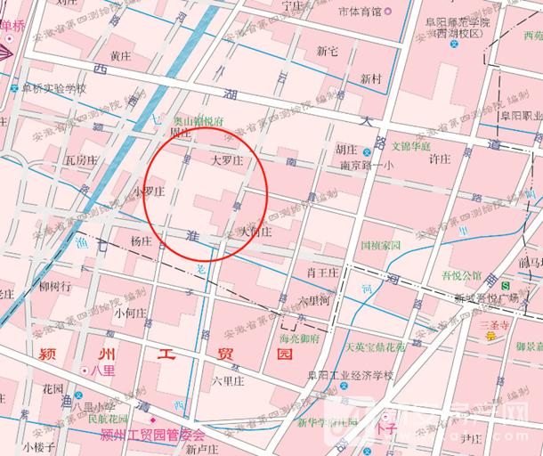 阜阳高铁新区新建一所高中!
