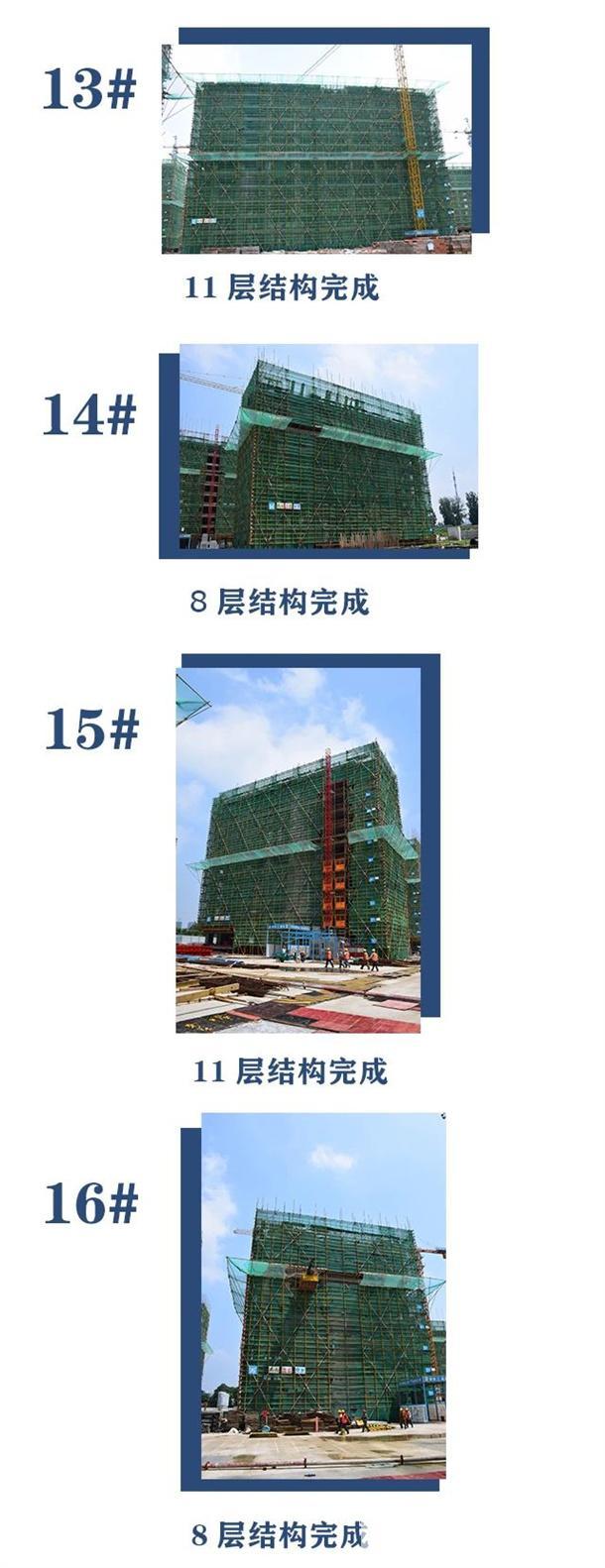 淮北建投绿城诚园7月工程进度 (7)