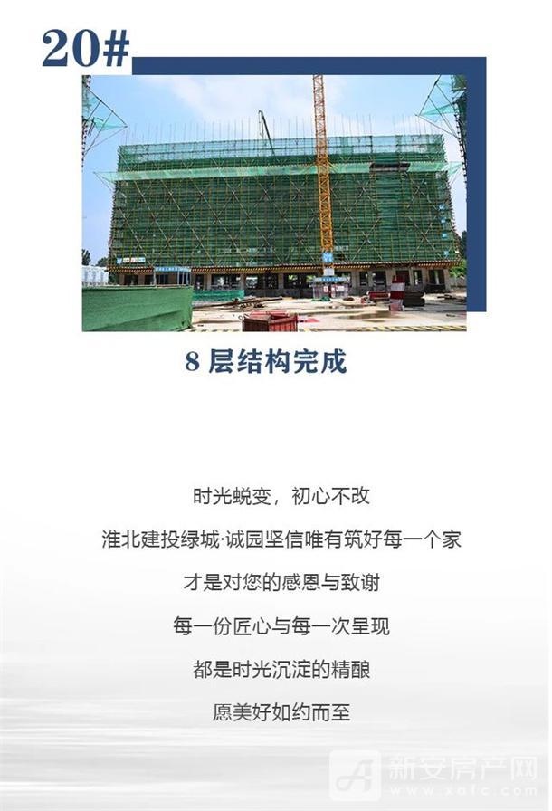 淮北建投绿城诚园7月工程进度 (9)